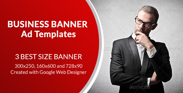 CodeCanyon Business Banner Ad Templates 9936190