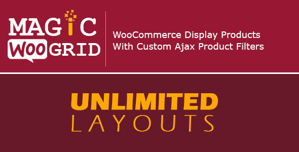 CodeCanyon Magic Grid WooCommerce Display Product&Ajax Filter 9936306