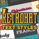 Retrohat Graphic Styles - GraphicRiver Item for Sale