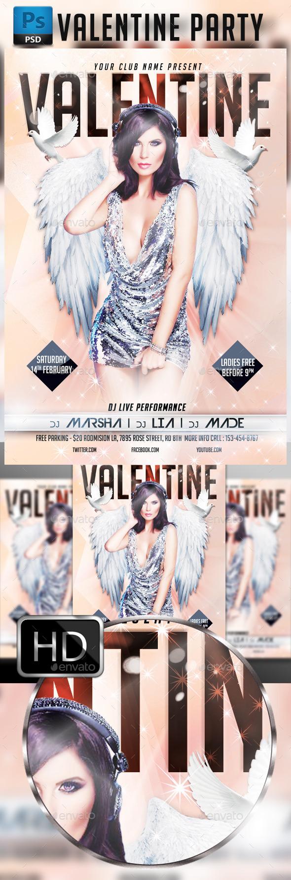 GraphicRiver Valentines 9936455
