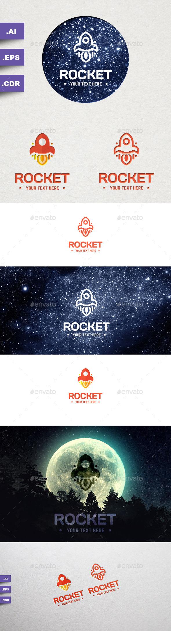 GraphicRiver Rocket Logo 9919227