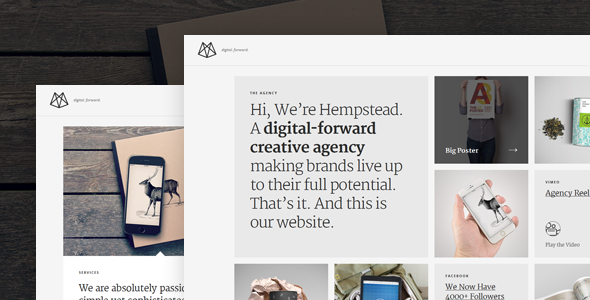 ThemeForest Hempstead Responsive Wordpress Portfolio Theme 9839586