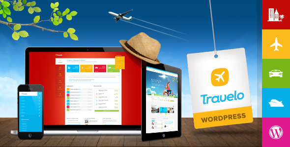 Travelo - Travel/Tour Booking Wordpress Theme