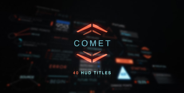 Comet HUD Title Collection