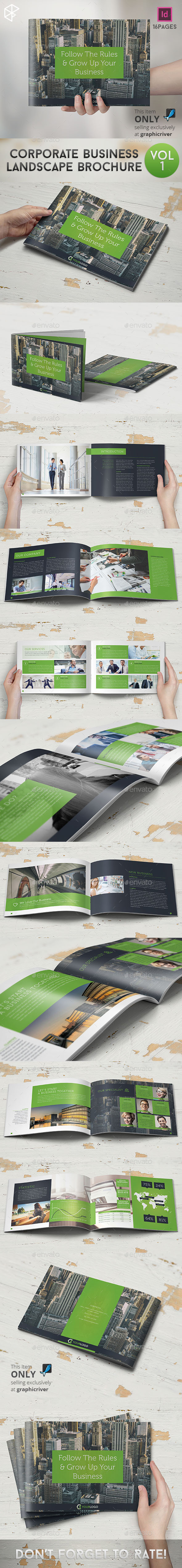GraphicRiver Corporate Business Landscape Brochure 9936685