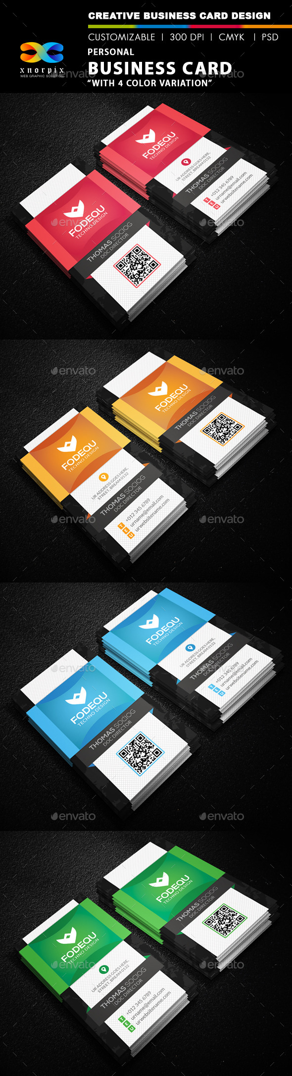 GraphicRiver Personal Business Card 9937039