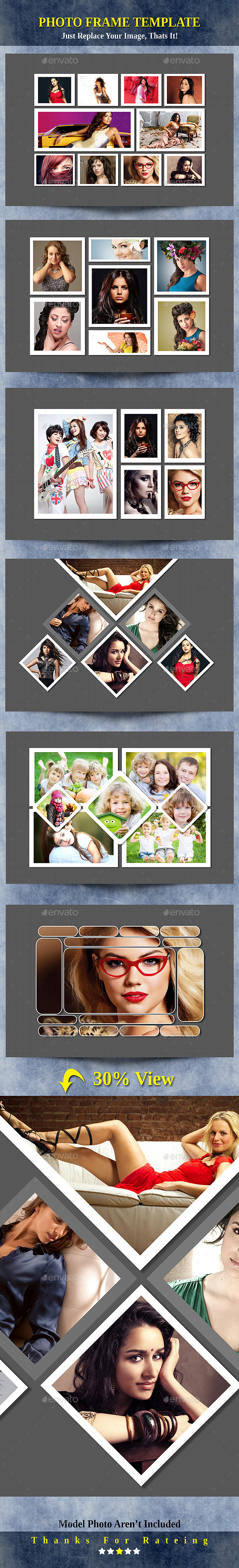 GraphicRiver Photo Frame Templates 9937050