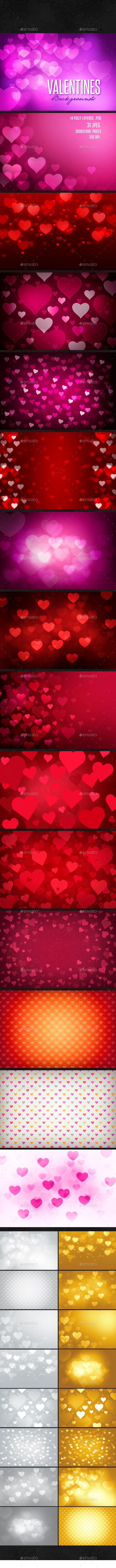 GraphicRiver Valentine s Day Background 9937051