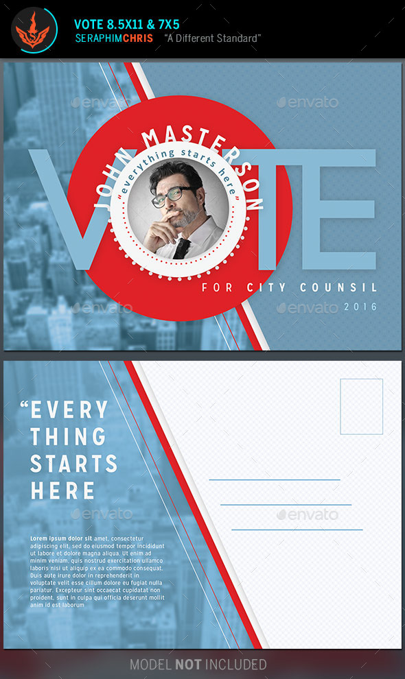 GraphicRiver Vote Political Flyer Mailer Template 9937076