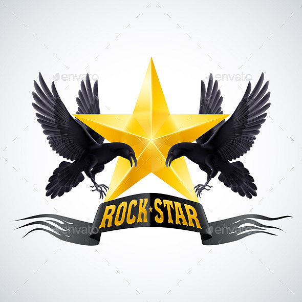 GraphicRiver Rock Star 9937091