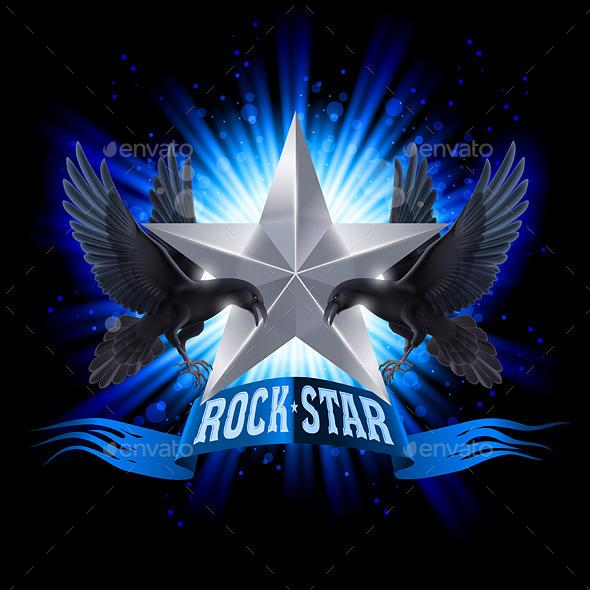 GraphicRiver Rock Star 9937092