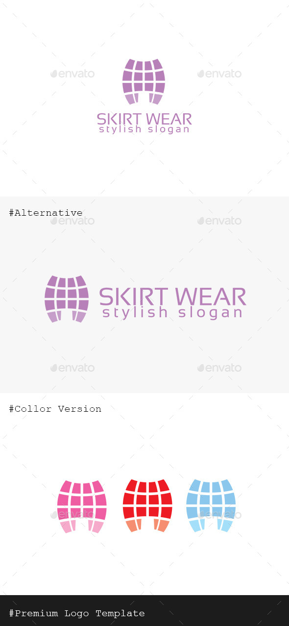 GraphicRiver Skirt Wear Logo 9937100