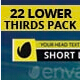 Elegant Lower Thirds Pack - VideoHive Item for Sale