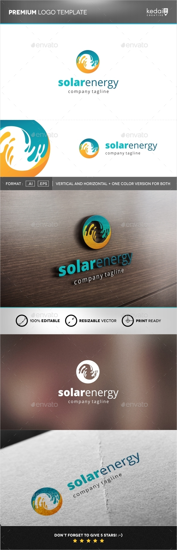 GraphicRiver Solar Energy 9937174