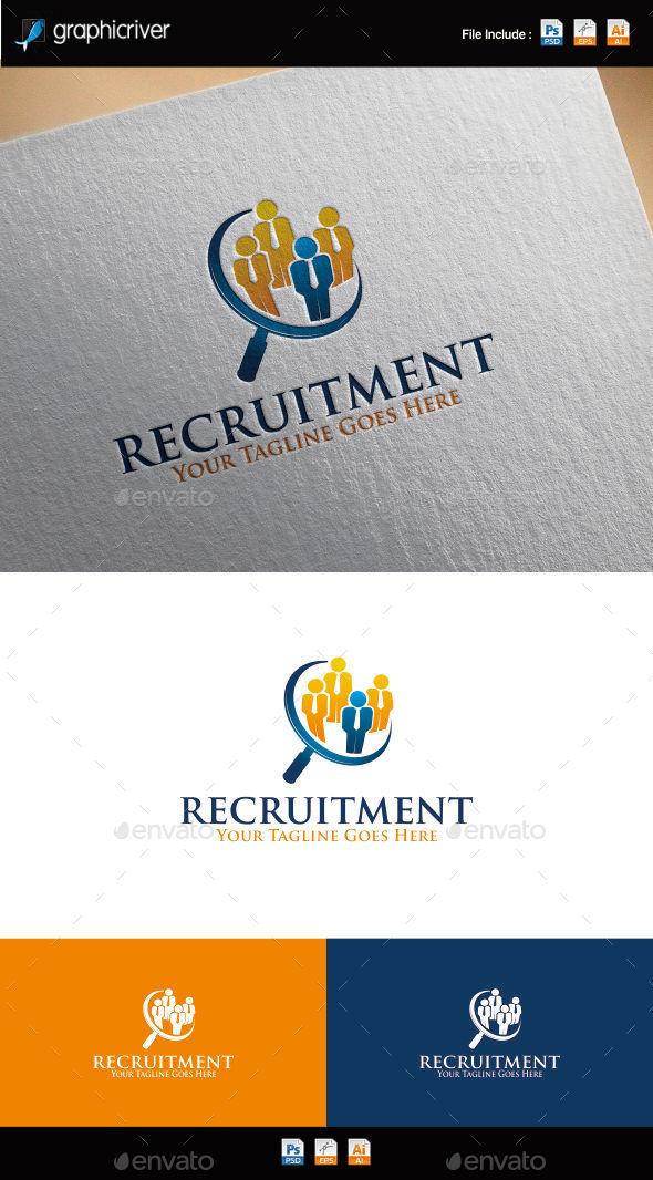 GraphicRiver Recruitment Logo 9937228