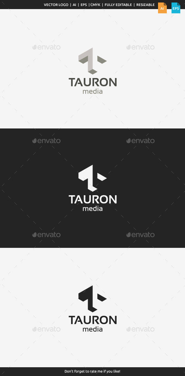 GraphicRiver Tauron Media Letter T 9936305