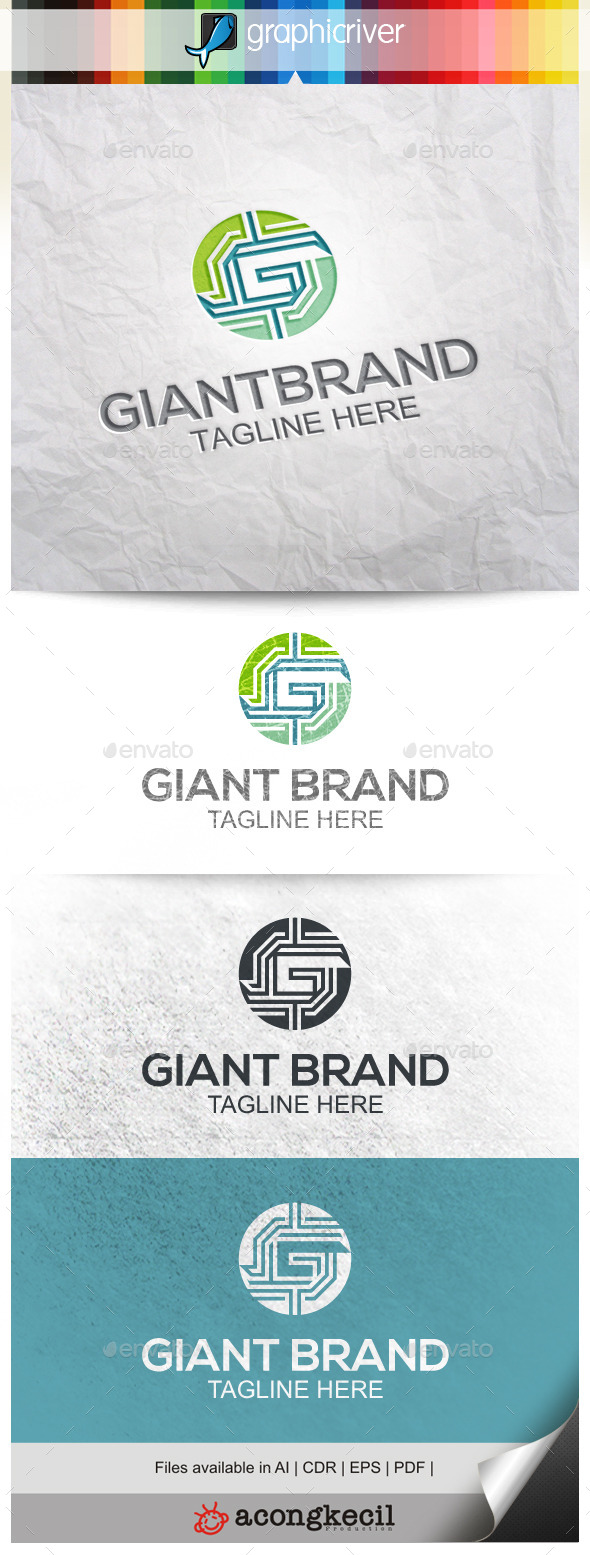 GraphicRiver Giant Brand V.2 9937614
