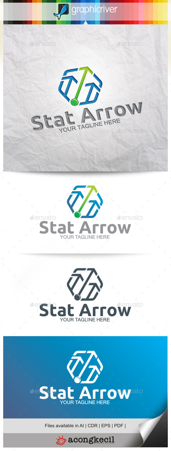 GraphicRiver Stat Arrow 9937662