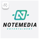 Note Media Logo - GraphicRiver Item for Sale