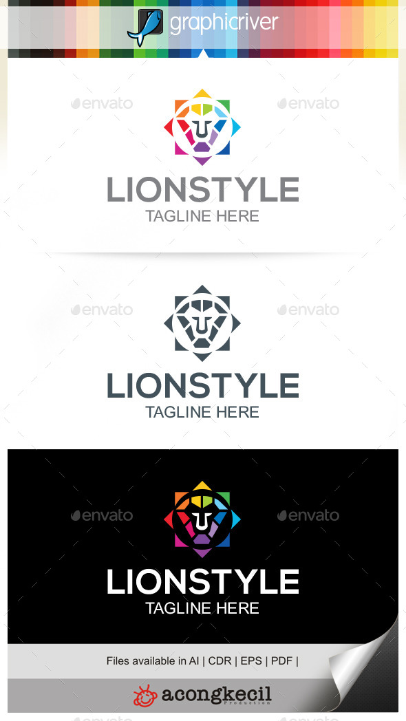 GraphicRiver Lion Style 9937727