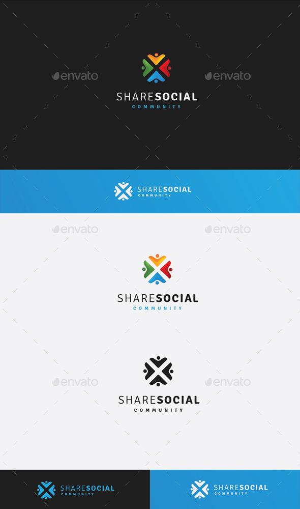 GraphicRiver Social Share 9937730