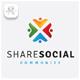 Share Social Logo - GraphicRiver Item for Sale