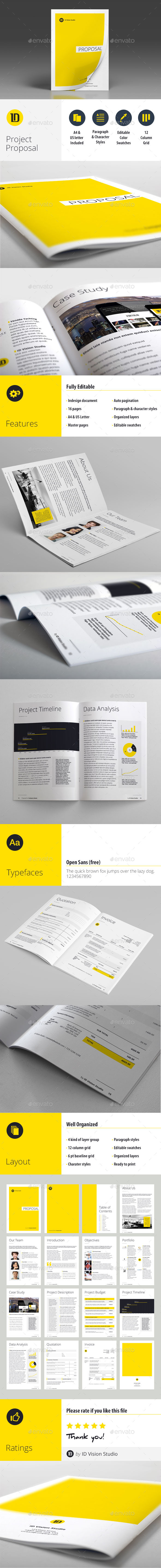 GraphicRiver Project Proposal Template 9937856