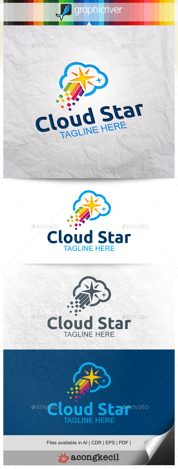 GraphicRiver Cloud Star 9938108