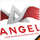Angel Wing Letter A Logo - GraphicRiver Item for Sale