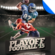 Playoff Football Flyer Template - GraphicRiver Item for Sale