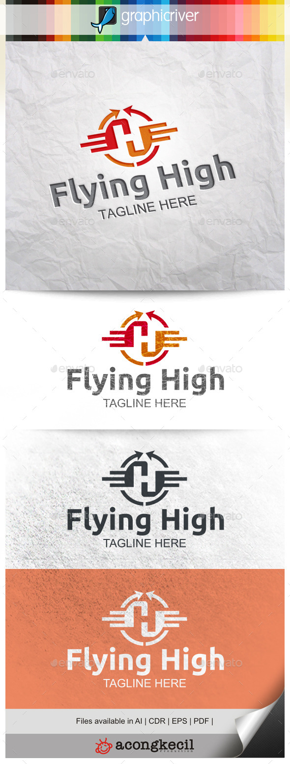 GraphicRiver Flying High 9938115