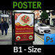 Restaurant Poster Template Vol.4 - GraphicRiver Item for Sale