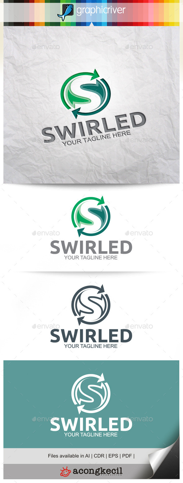 GraphicRiver Swirled 9938578