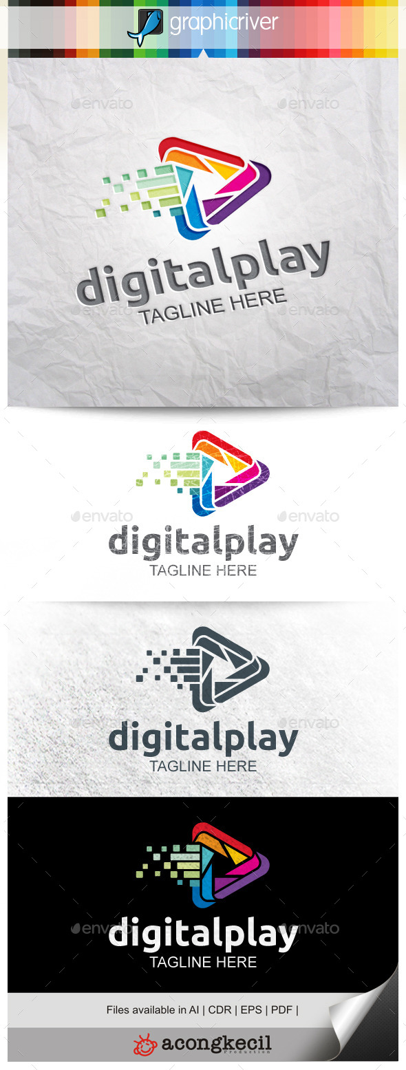 GraphicRiver Digital Play V.5 9938610