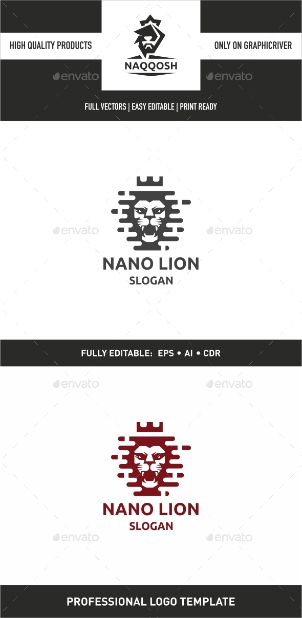 GraphicRiver Nano Lion 9938704