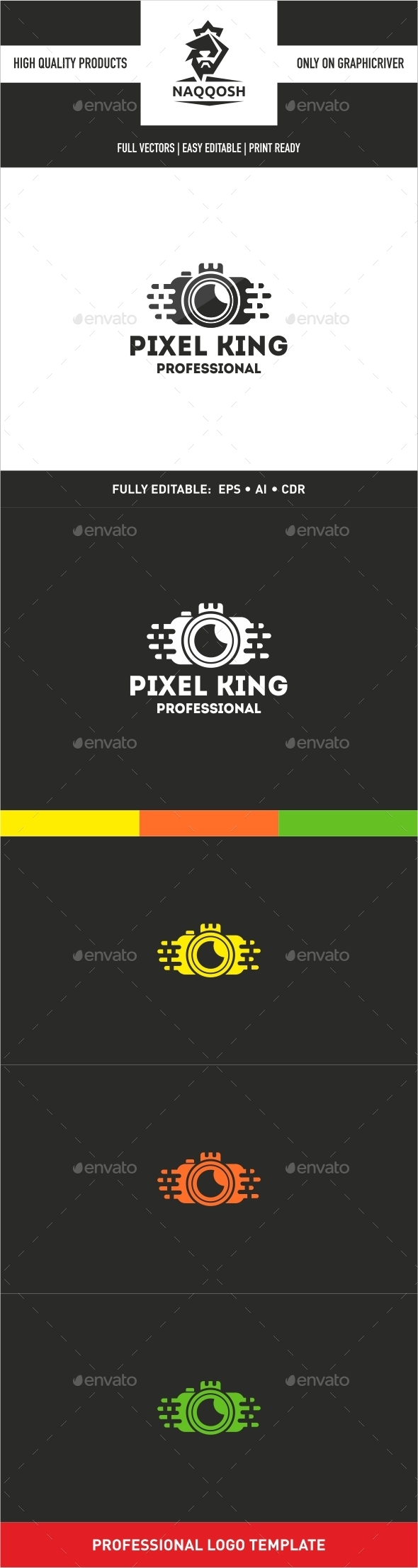 GraphicRiver Pixel King 9938738