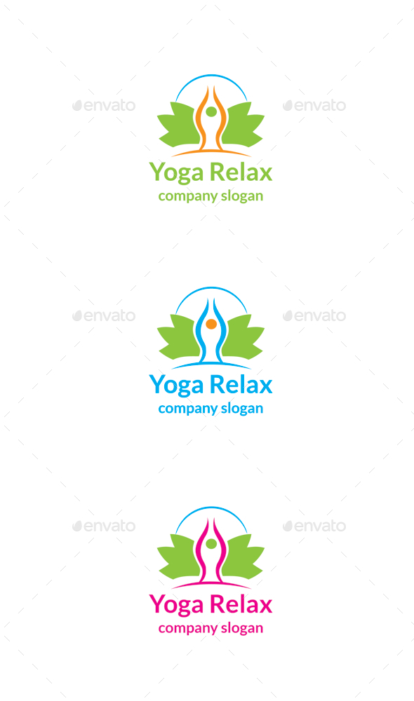 GraphicRiver Yoga Relax 9938849