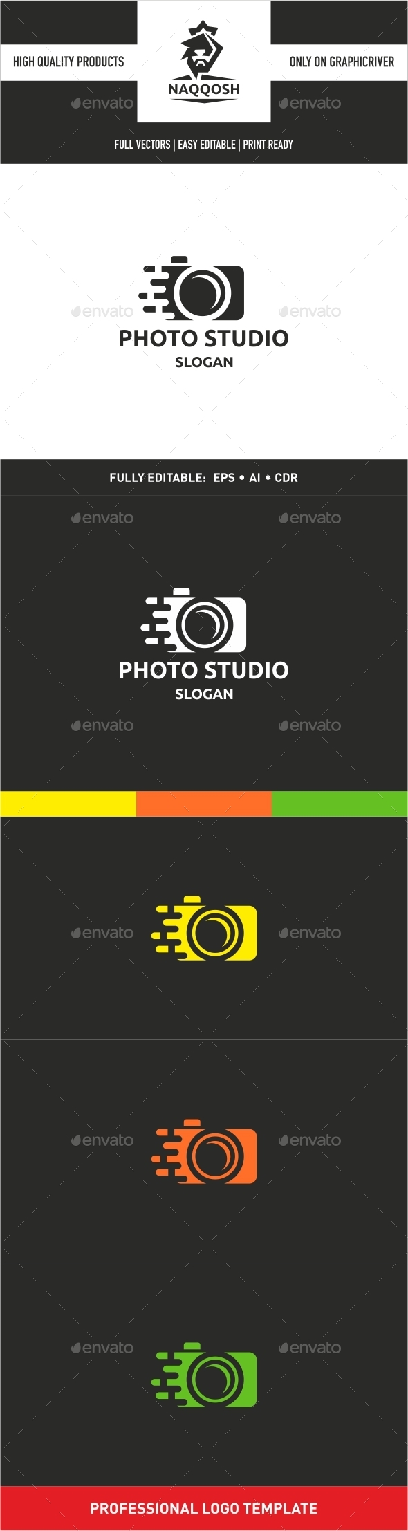 GraphicRiver Photo Studio Logo 9938886