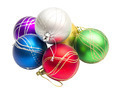 multi-colored Christmas balls - PhotoDune Item for Sale
