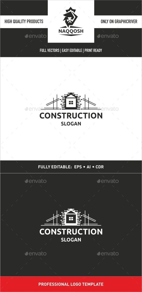 GraphicRiver Construction Logo 9938962