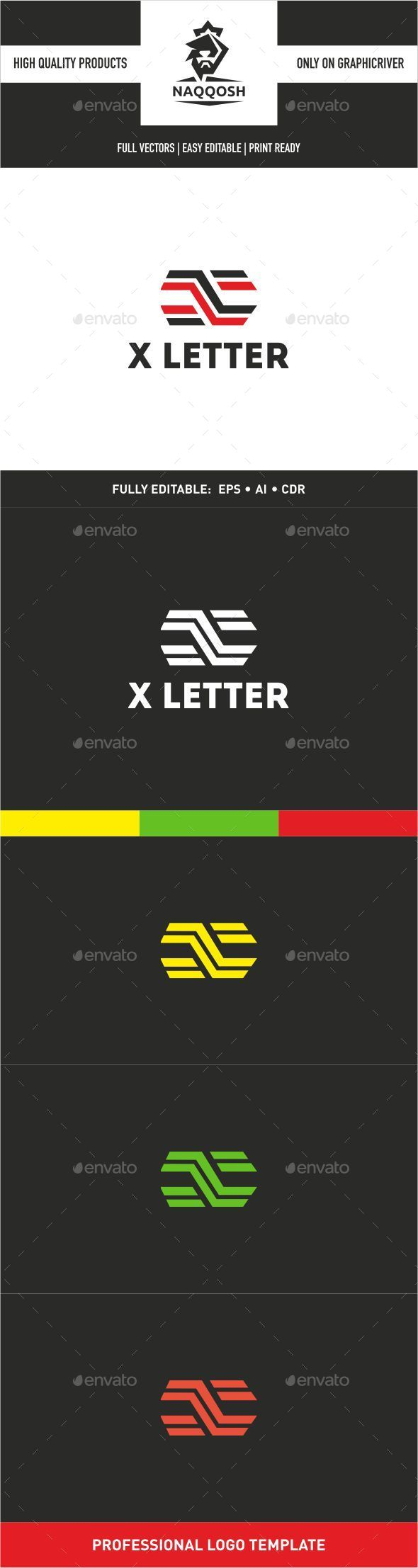 GraphicRiver X Letter 9939076