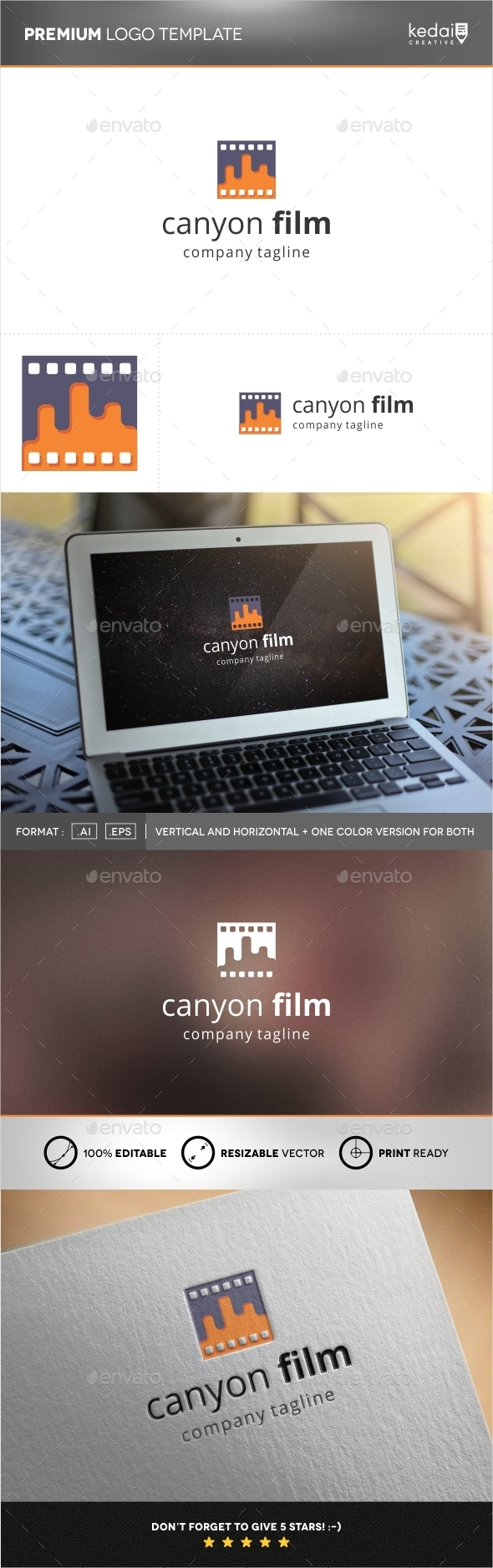 GraphicRiver Canyon Film 9939114