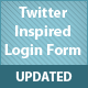 Twitter Inspired Login Form - Jquery
