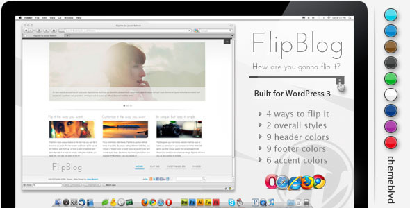 FlipBlog Premium WordPress Theme