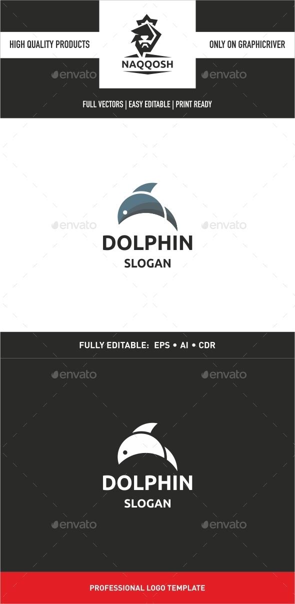 GraphicRiver Dolphin Logo 9939261