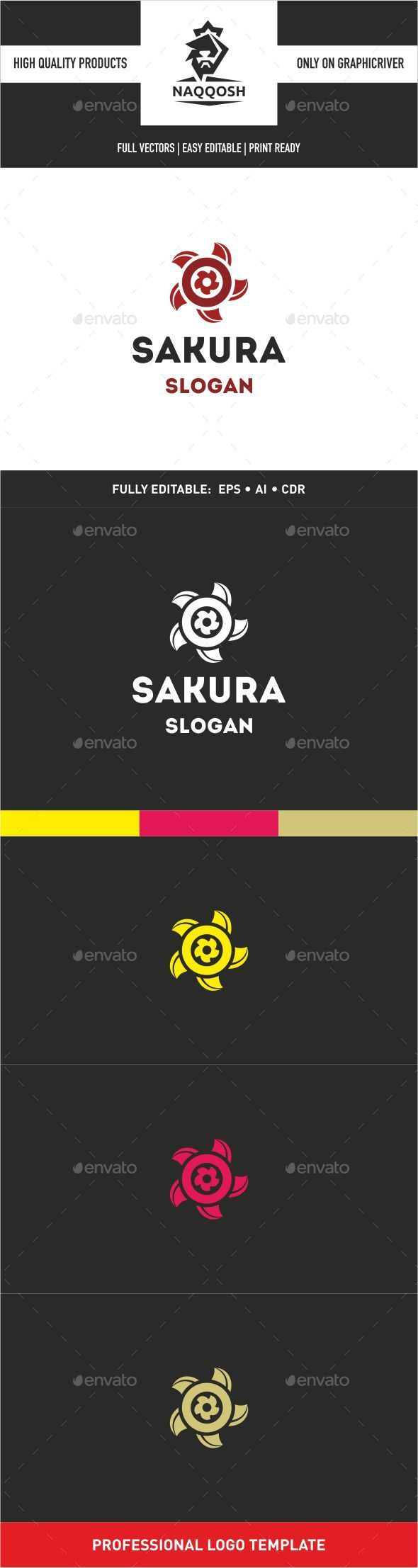 GraphicRiver Sakura 9939273