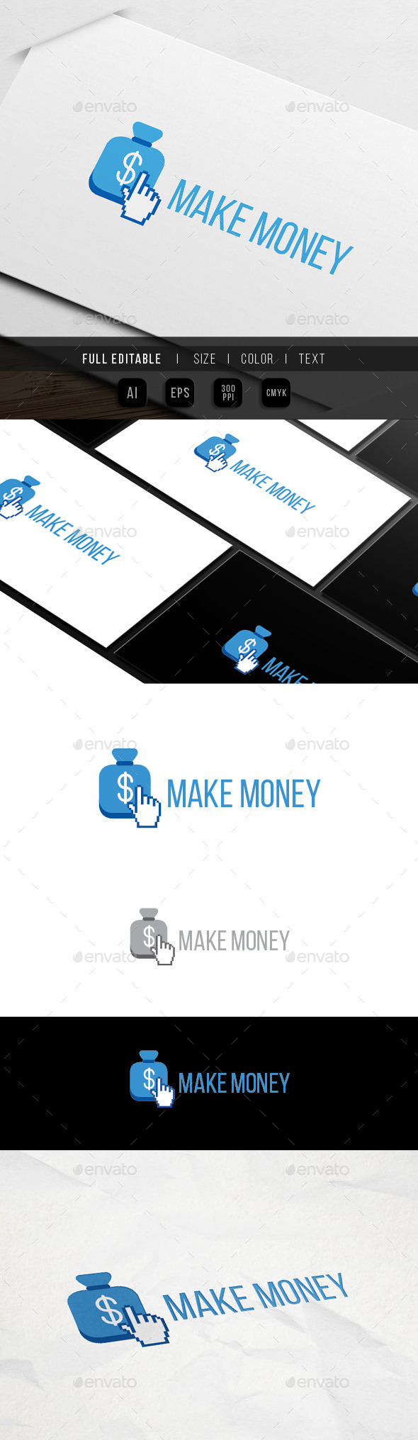 GraphicRiver Click Money Make Earn 9939348