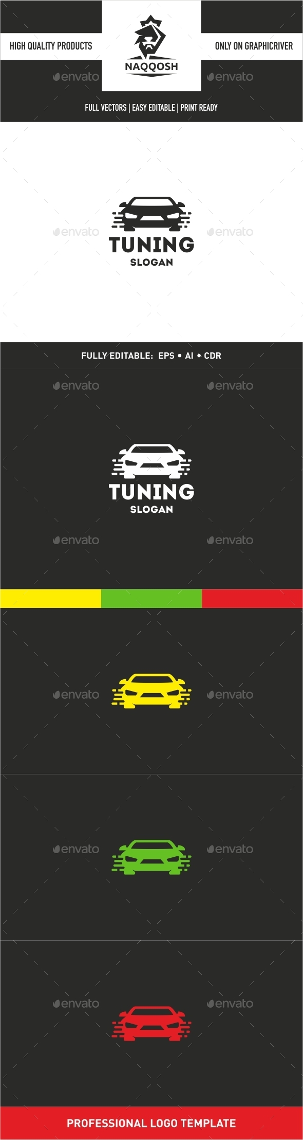 GraphicRiver Tuning Logo 9939355