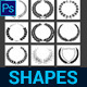Round Custom Shapes Vol.1 - GraphicRiver Item for Sale