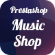 Prestashop Music Shop Module